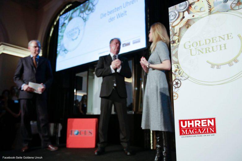 Facebook Live: Exklusive Einblicke in die Verleihung der Goldenen Unruh 2017