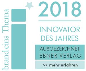In eigener Sache: Der Ebner Verlag ist Innovator des Jahres 2018