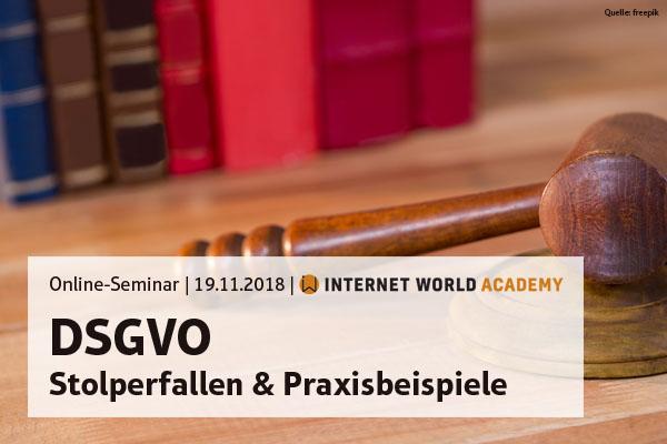 DSGVO: Umsetzung, Stolperfallen & Praxisbeispiele