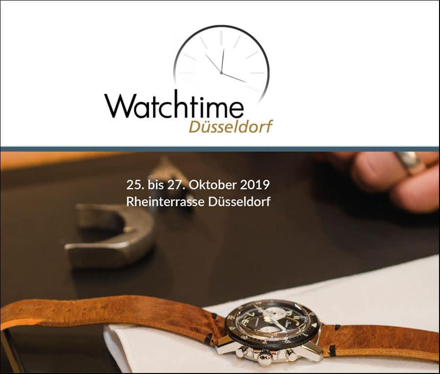 Watchtime Düsseldorf 2019: Trends entdecken, Innovationen testen und Uhren hautnah erleben